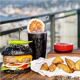 Marble Back Burger